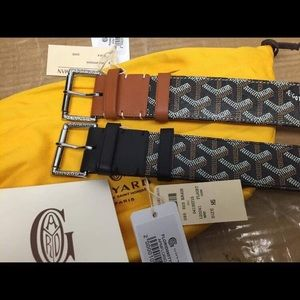 Goyard belt Authentic